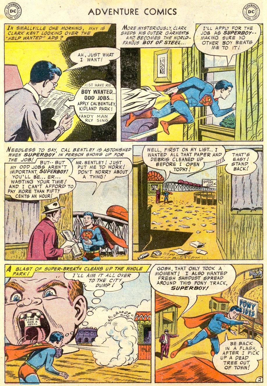 Read online Adventure Comics (1938) comic -  Issue #231 - 5