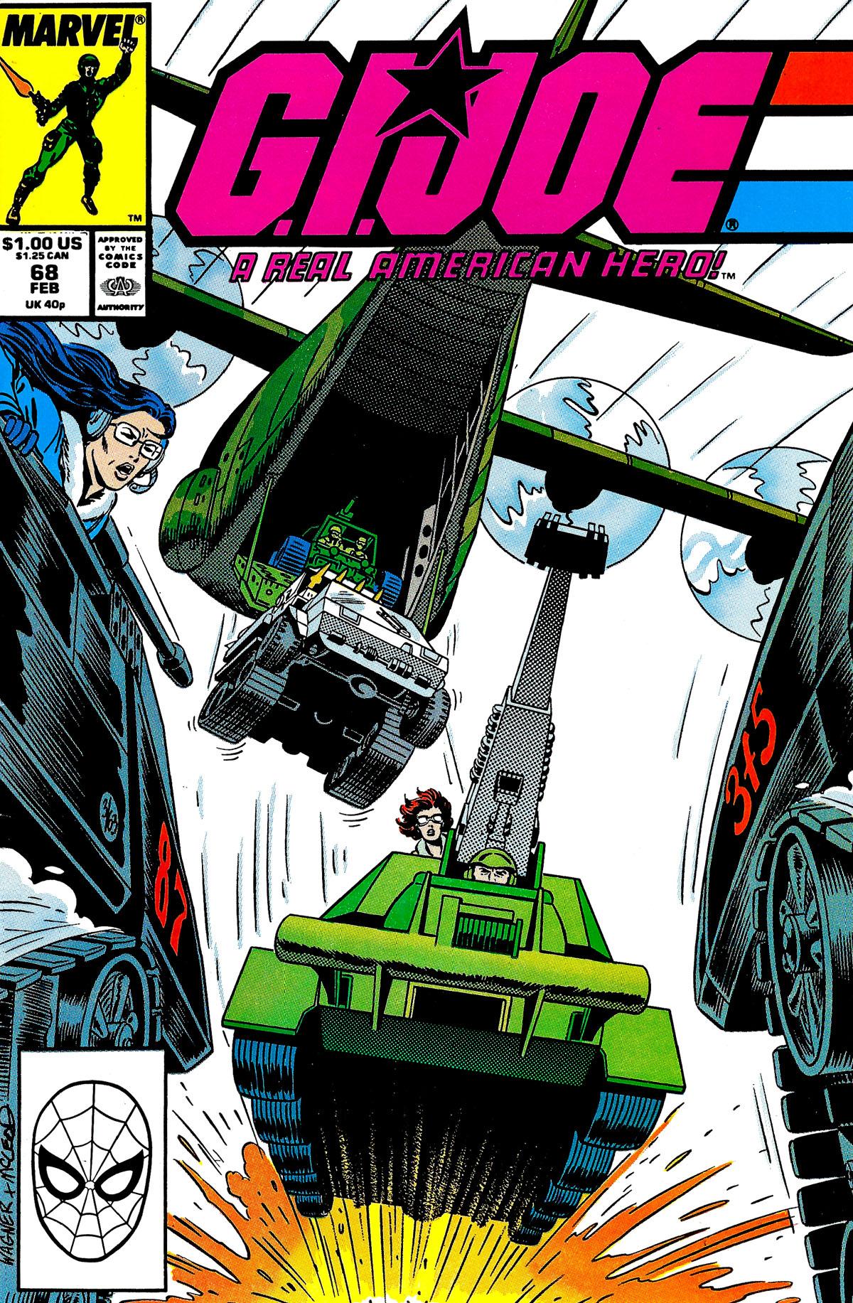G.I. Joe: A Real American Hero 68 Page 1