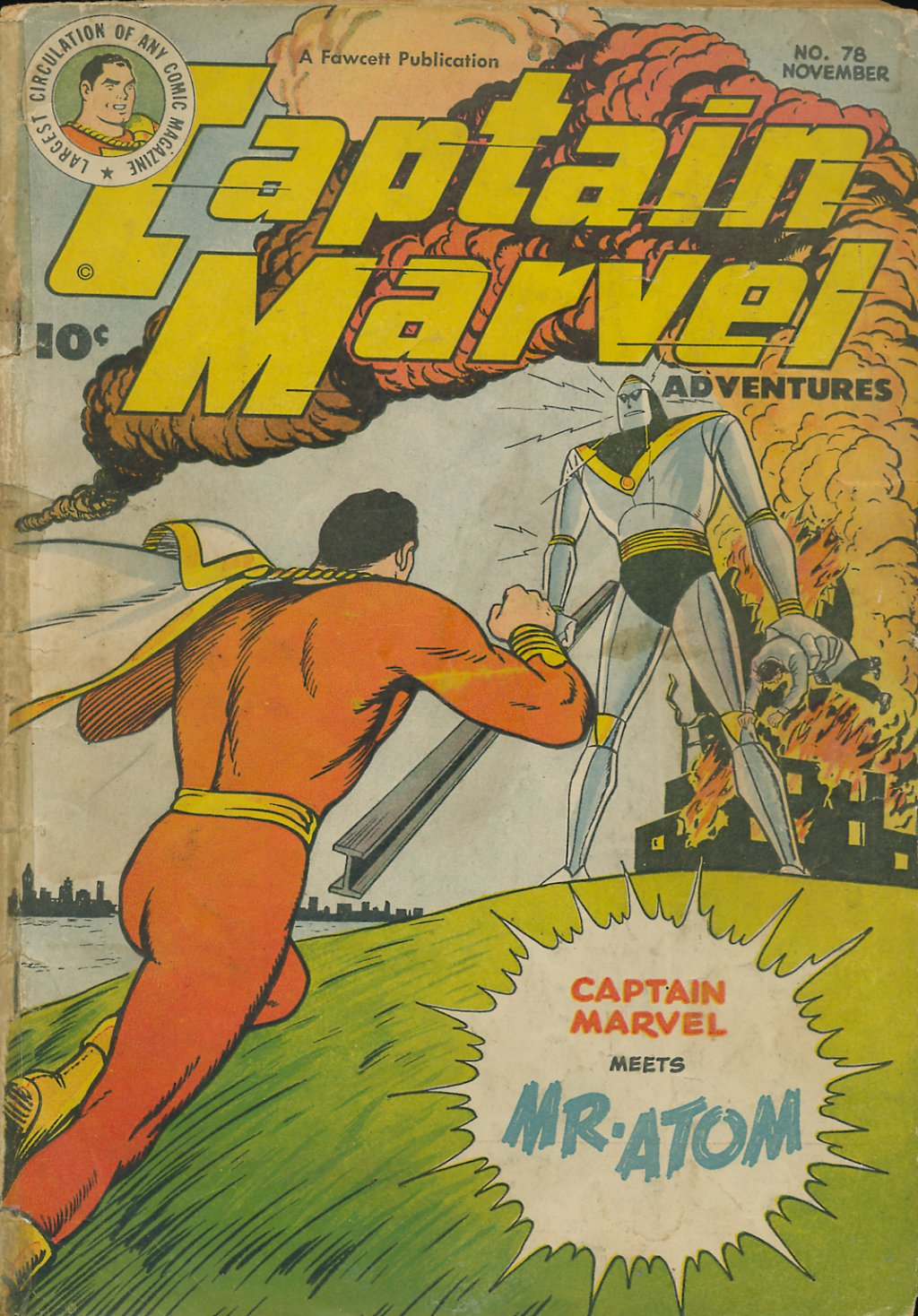 Captain Marvel Adventures 78 Page 1
