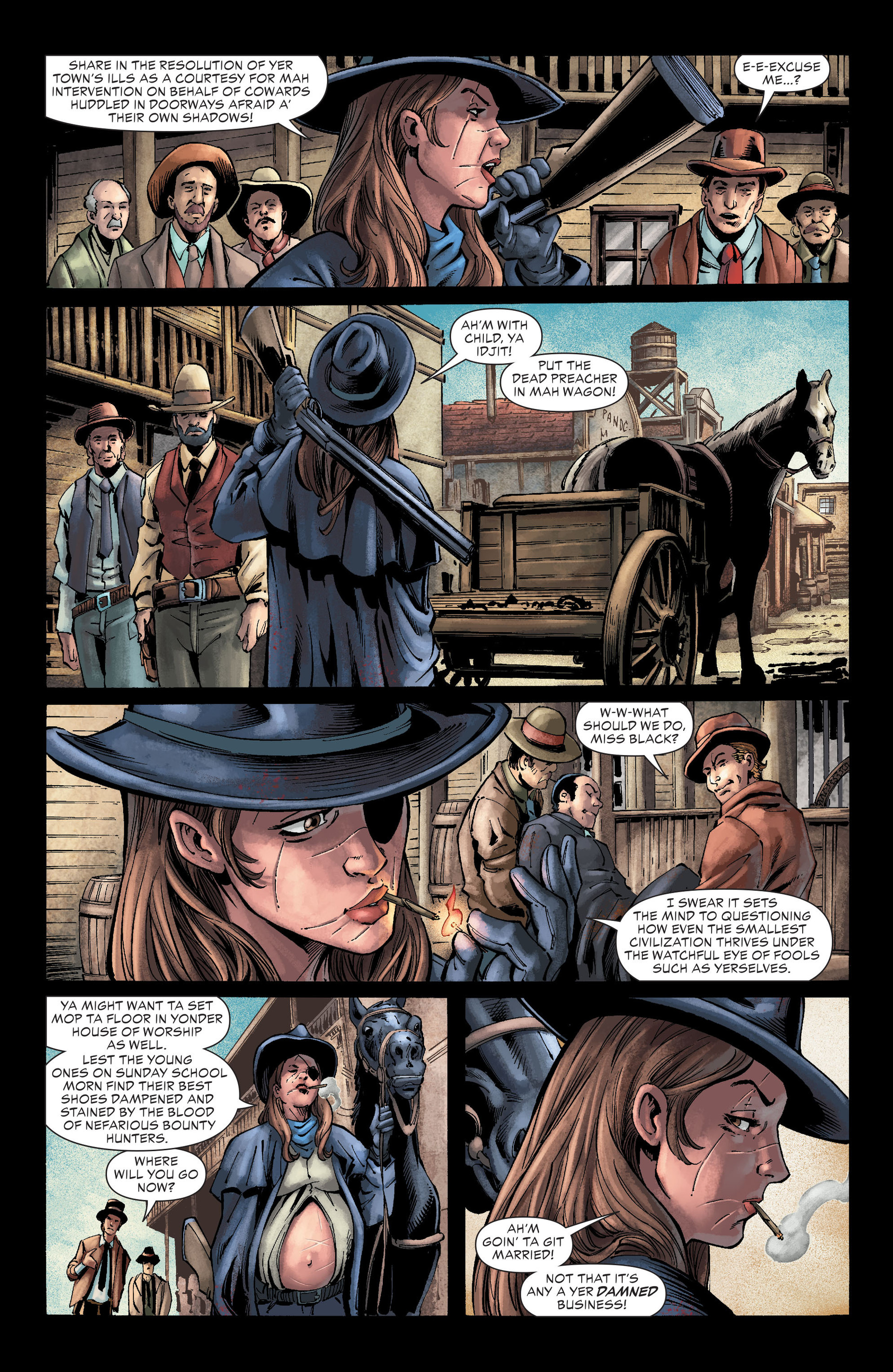 Read online All-Star Western (2011) comic -  Issue #26 - 5