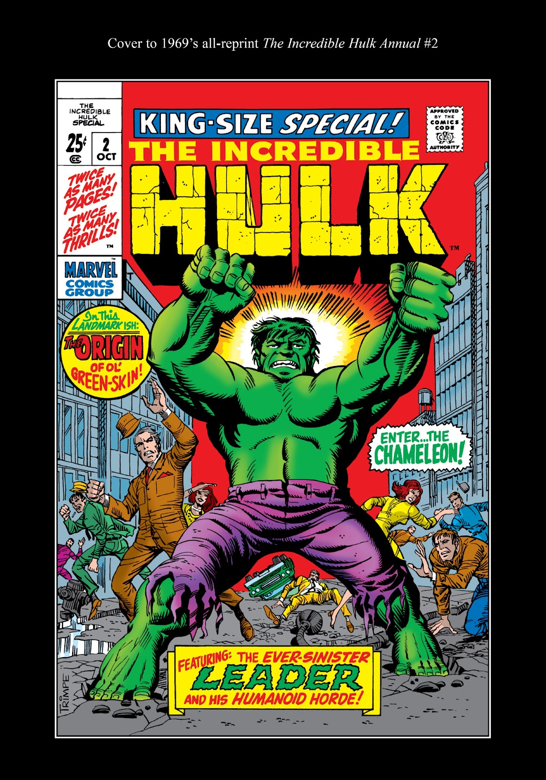 Read online Marvel Masterworks: The Incredible Hulk comic -  Issue # TPB 5 (Part 3) - 37