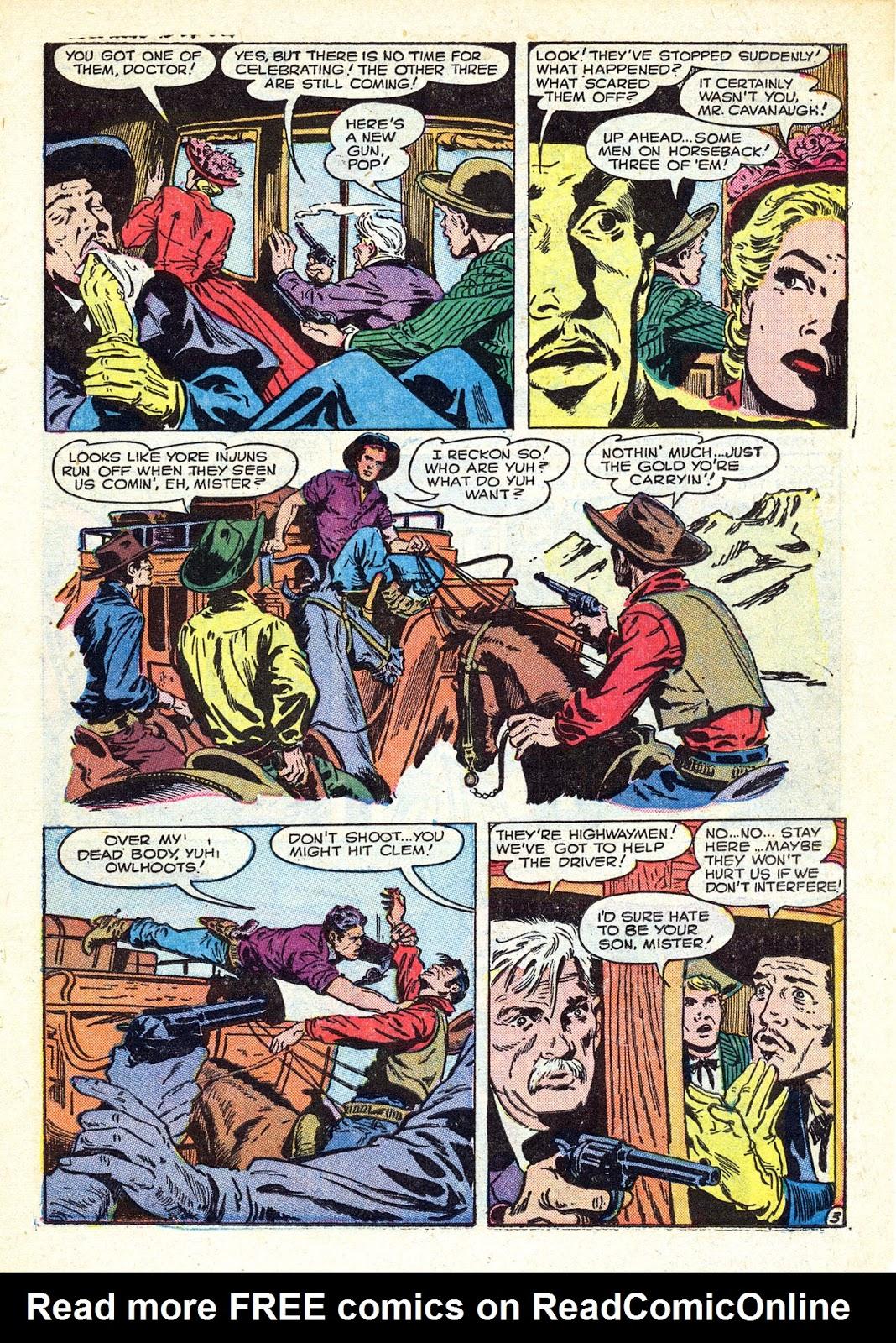 Gunsmoke Western issue 34 - Page 23