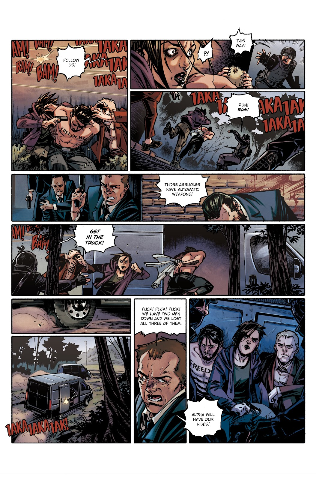 Read online Millennium: The Girl Who Danced With Death comic -  Issue #3 - 12