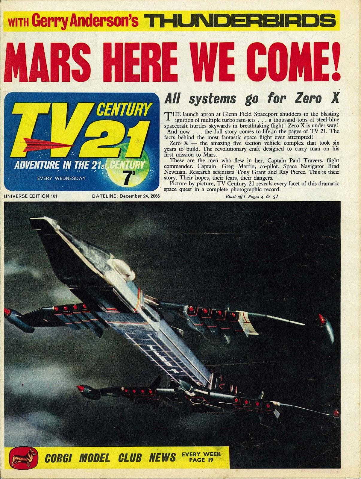 TV Century 21 (TV 21) issue 101 - Page 1