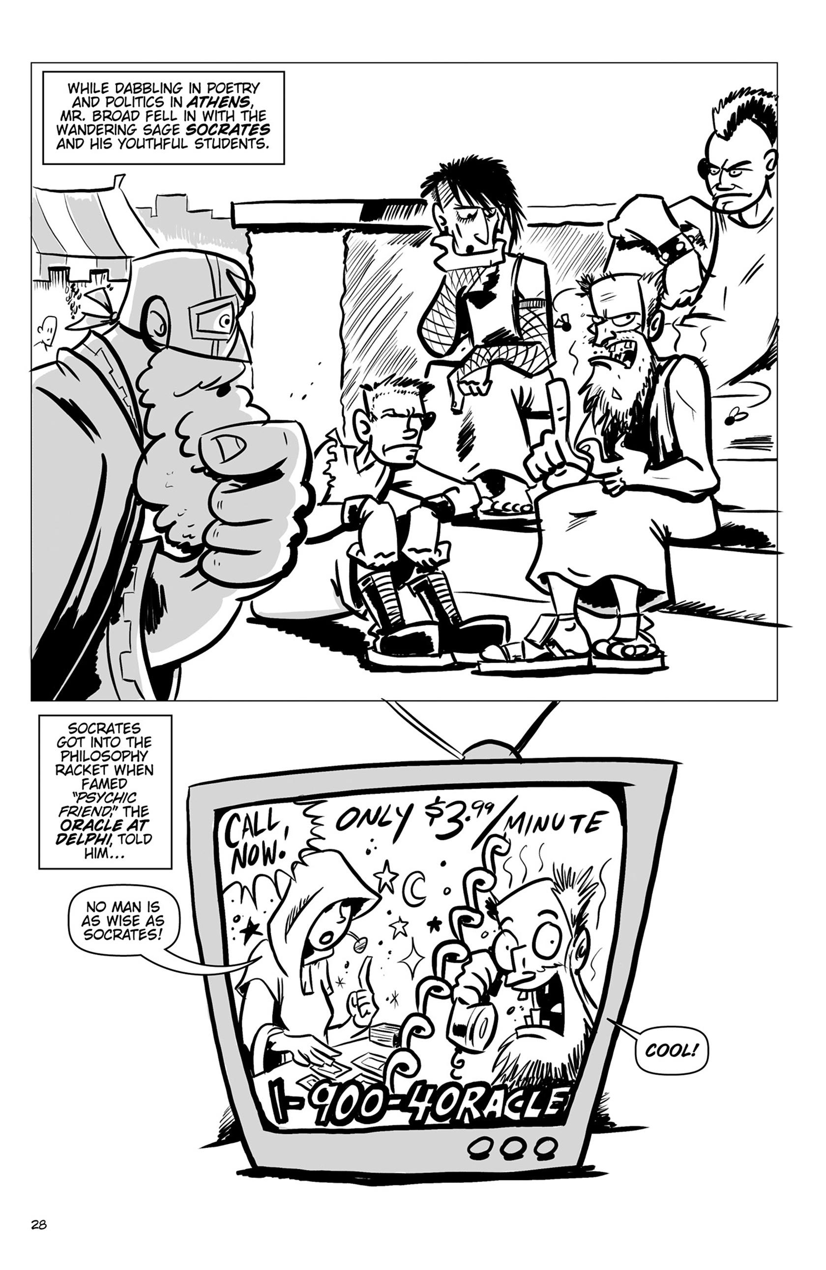 Read online Action Philosophers! comic -  Issue #Action Philosophers! TPB (Part 1) - 28