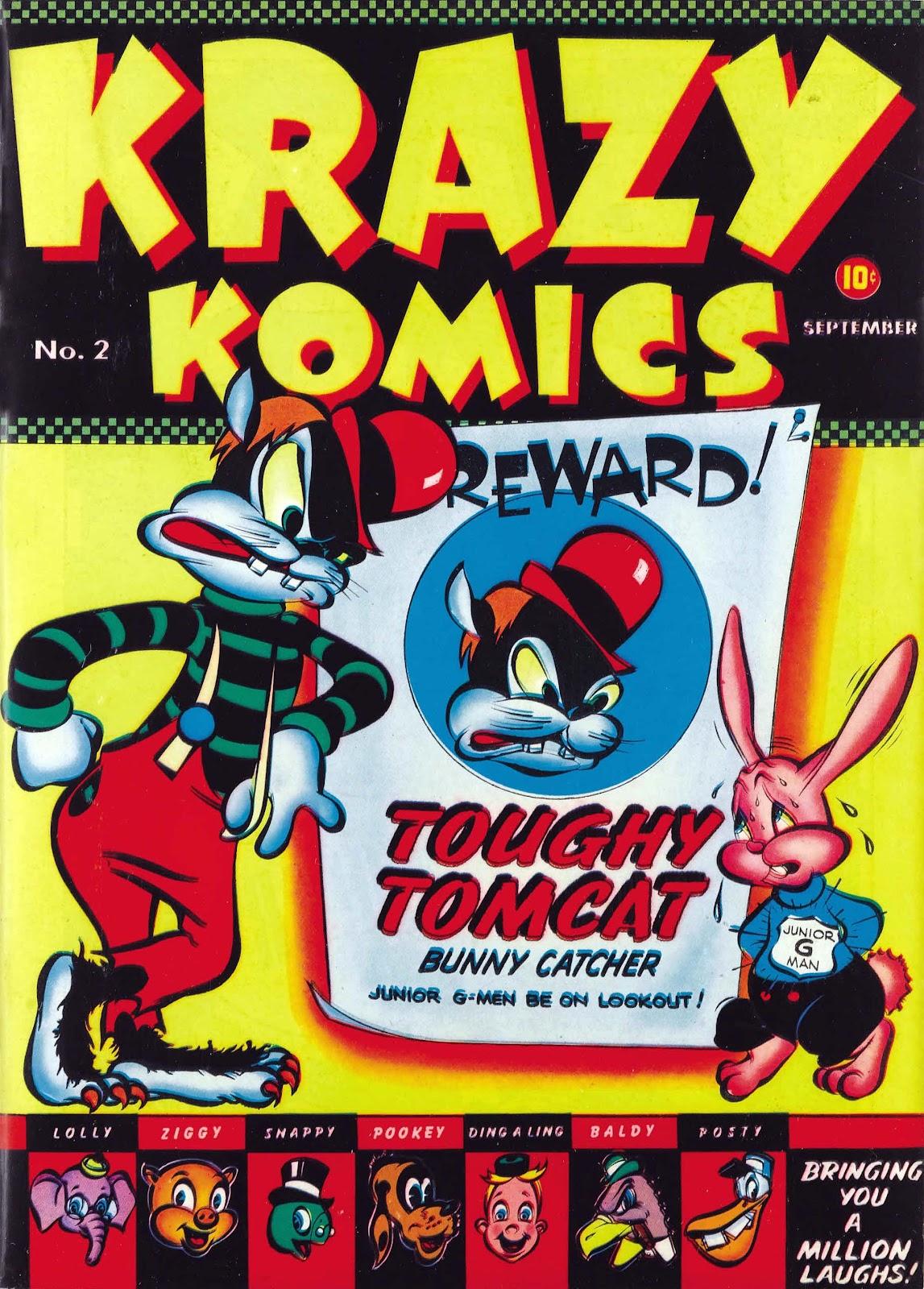 Krazy Komics (1942) issue 2 - Page 1