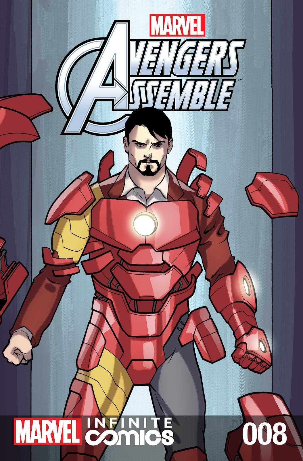 Marvel Universe Avengers Infinite Comic 8 Page 1