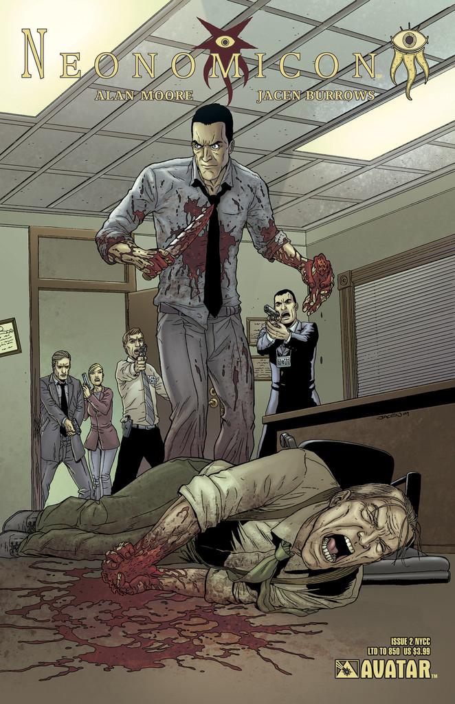 Read online Alan Moore's Neonomicon comic -  Issue #2 - 3
