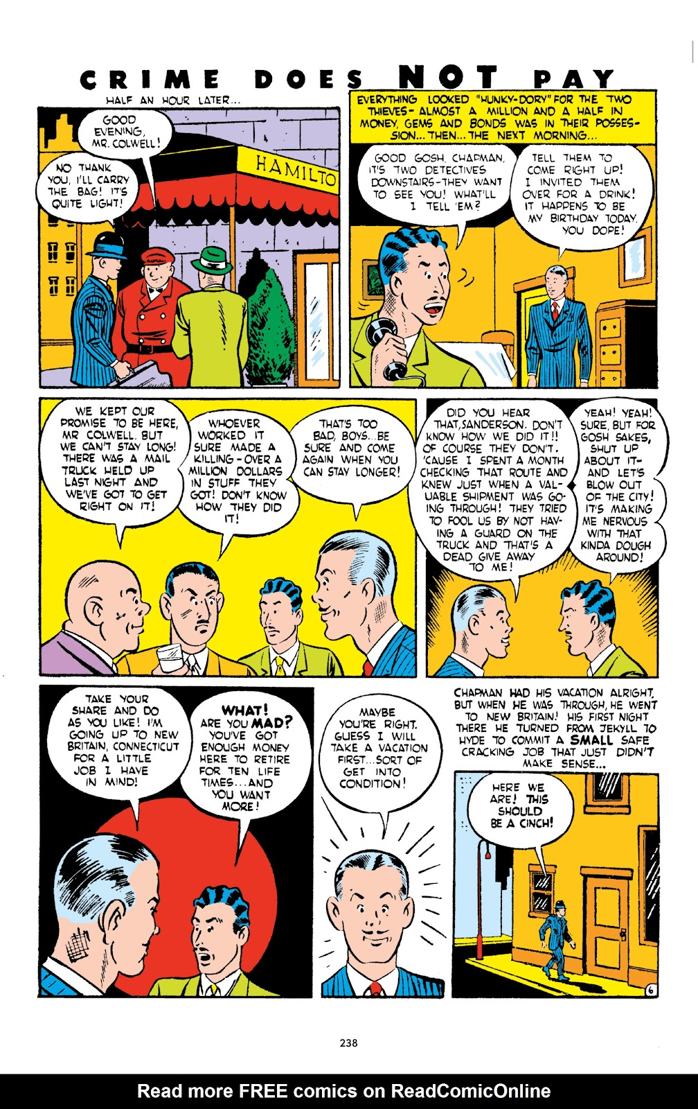 Read online Crime Does Not Pay Archives comic -  Issue # TPB 2 (Part 3) - 38