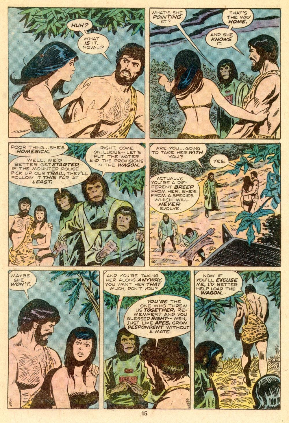 Read online Adventures on the Planet of the Apes comic -  Issue #5 - 10