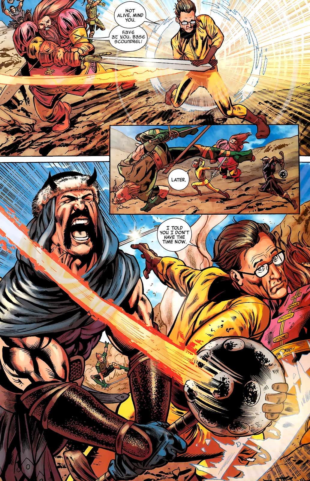 Warriors Three Issue #2 #2 - English 23
