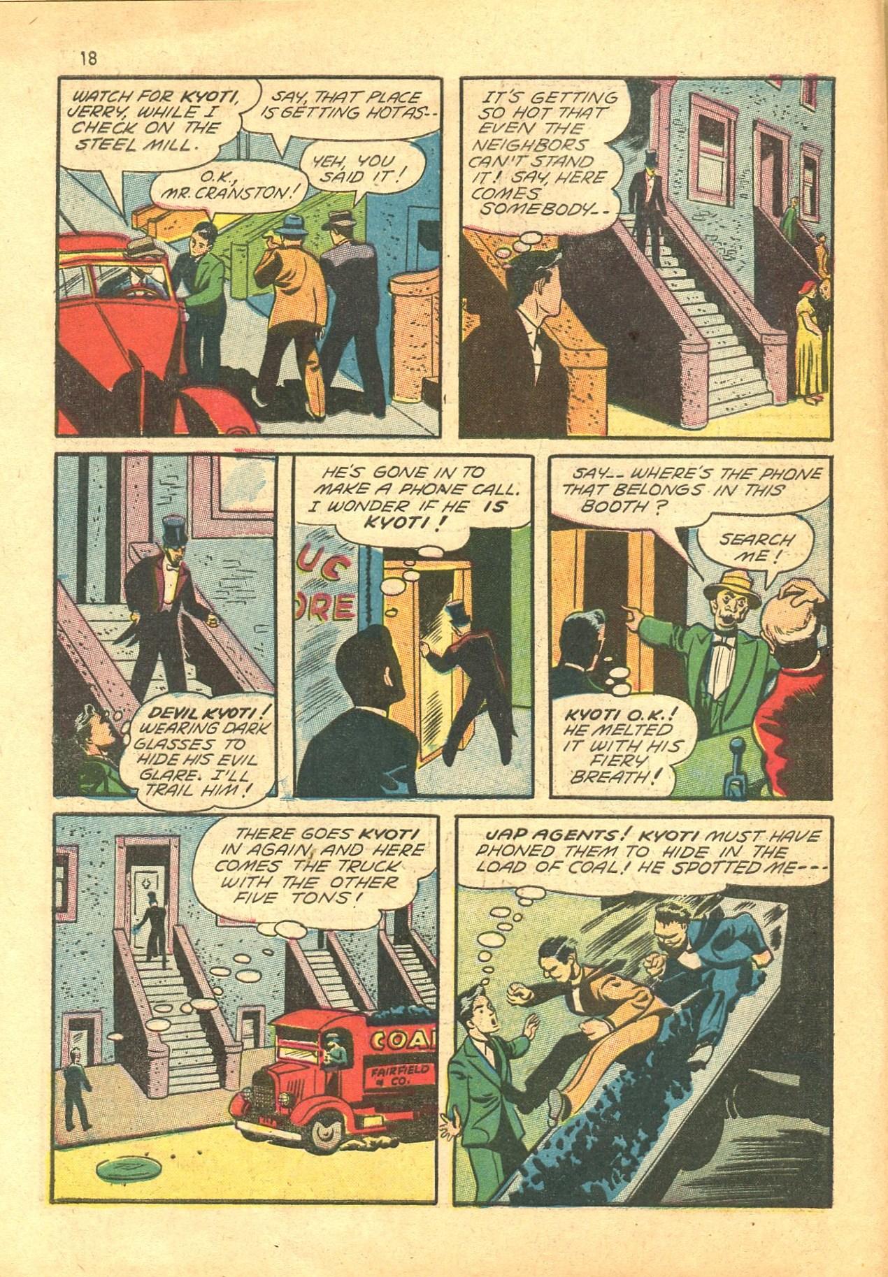 Read online Shadow Comics comic -  Issue #24 - 18