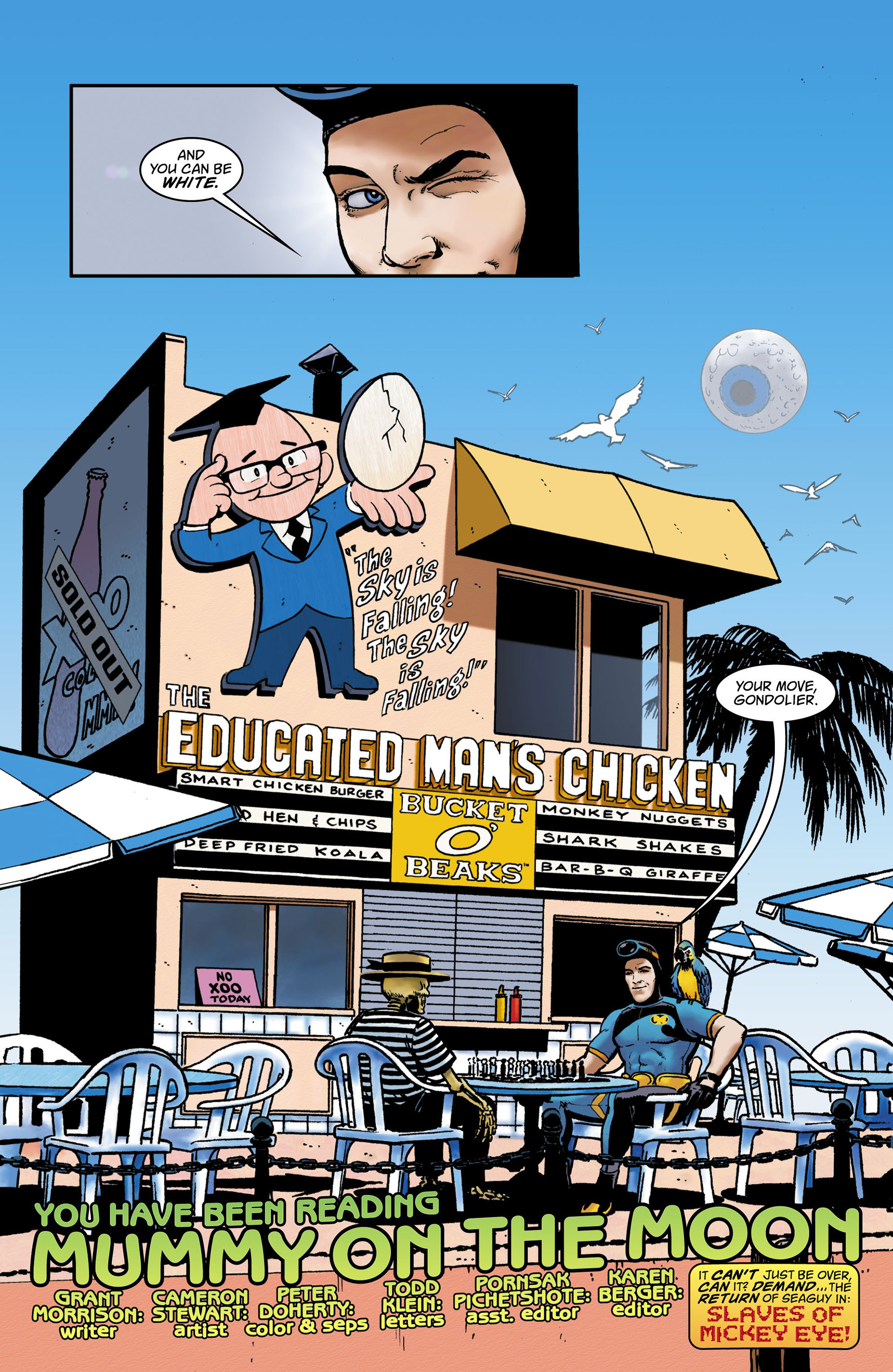 Read online Seaguy comic -  Issue #3 - 33