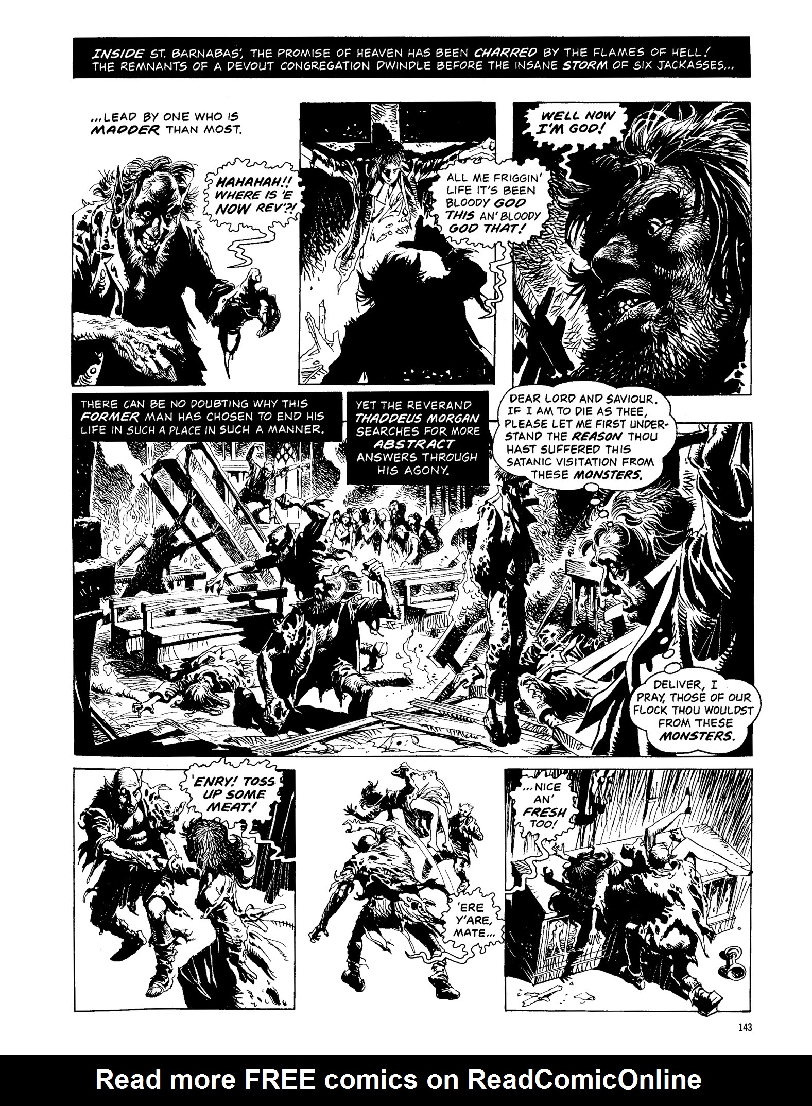 Read online Eerie Archives comic -  Issue # TPB 13 - 144