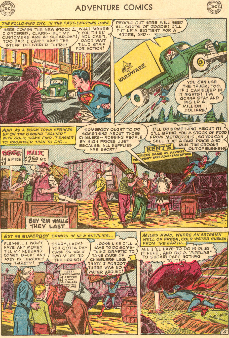 Read online Adventure Comics (1938) comic -  Issue #186 - 7
