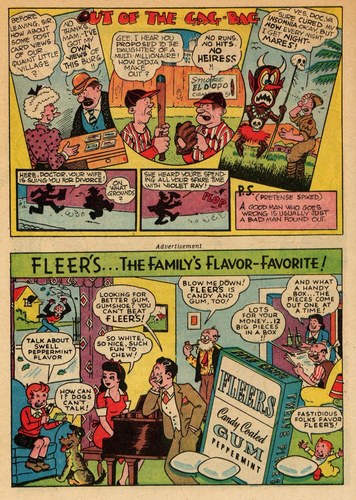 Read online Sensation (Mystery) Comics comic -  Issue #51 - 24