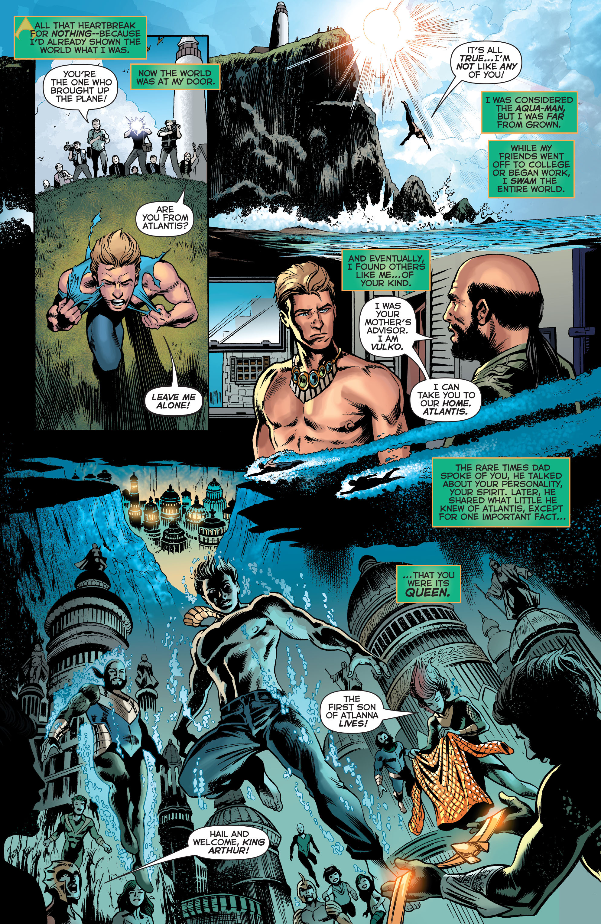 Read online Secret Origins (2014) comic -  Issue #2 - 23