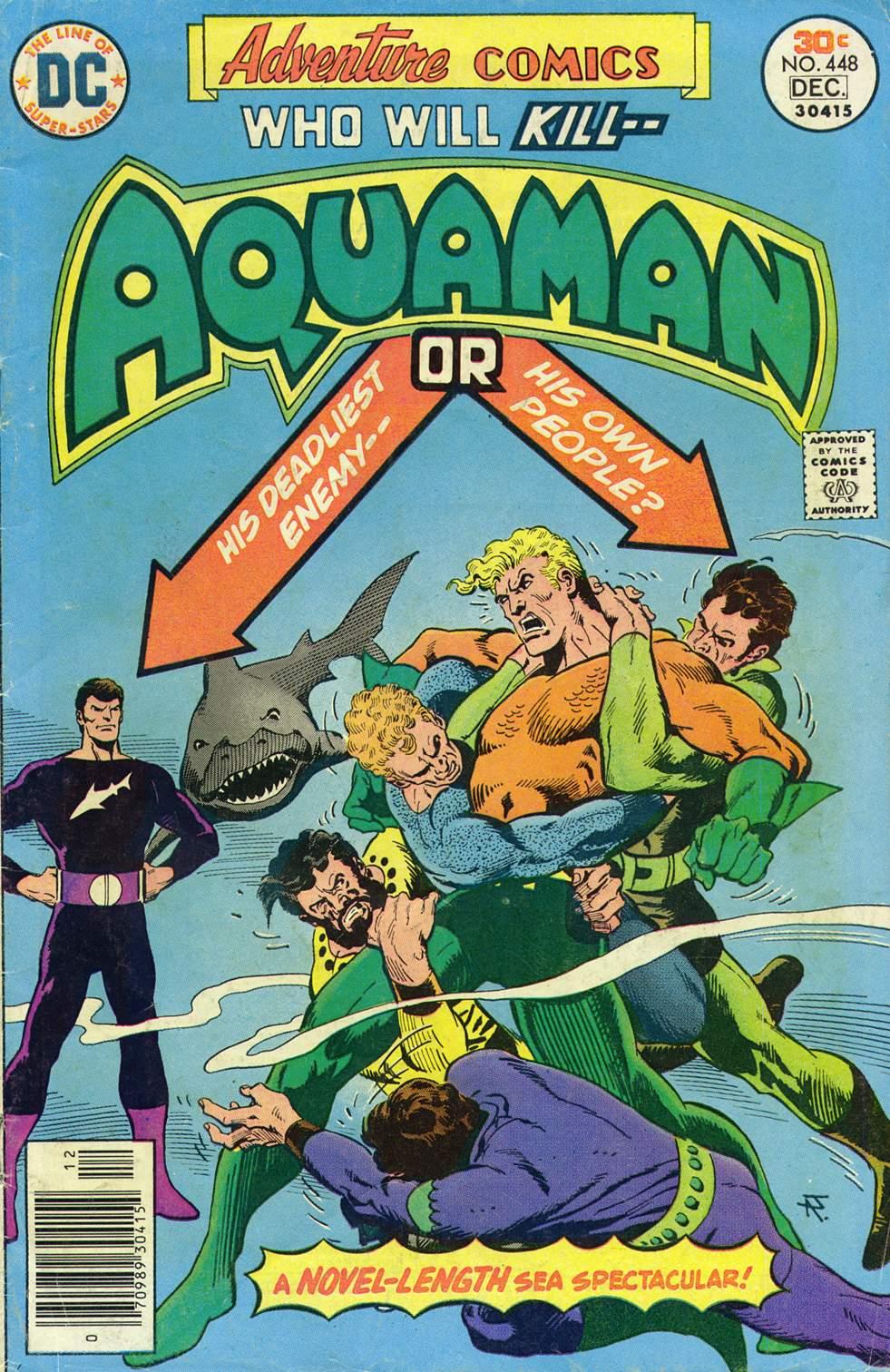Read online Adventure Comics (1938) comic -  Issue #448 - 1