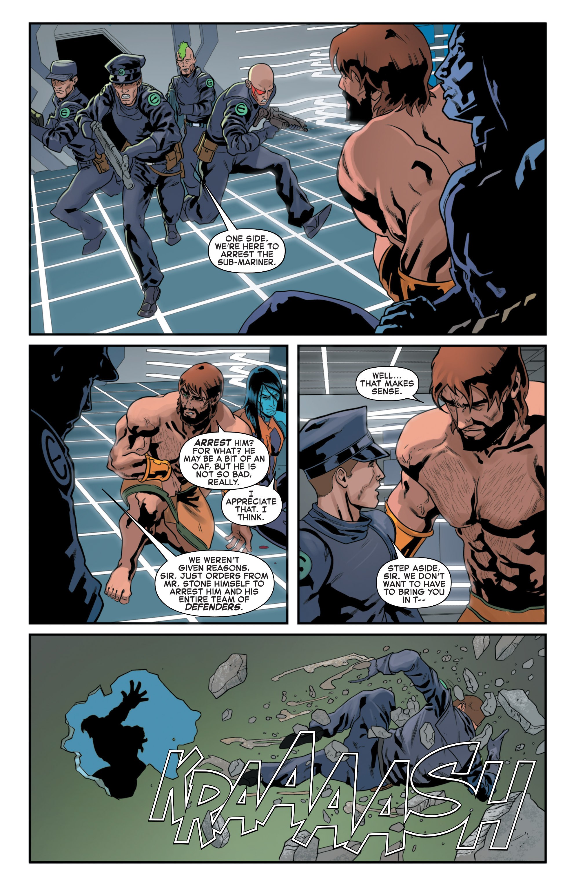 Read online Secret Wars 2099 comic -  Issue #4 - 4