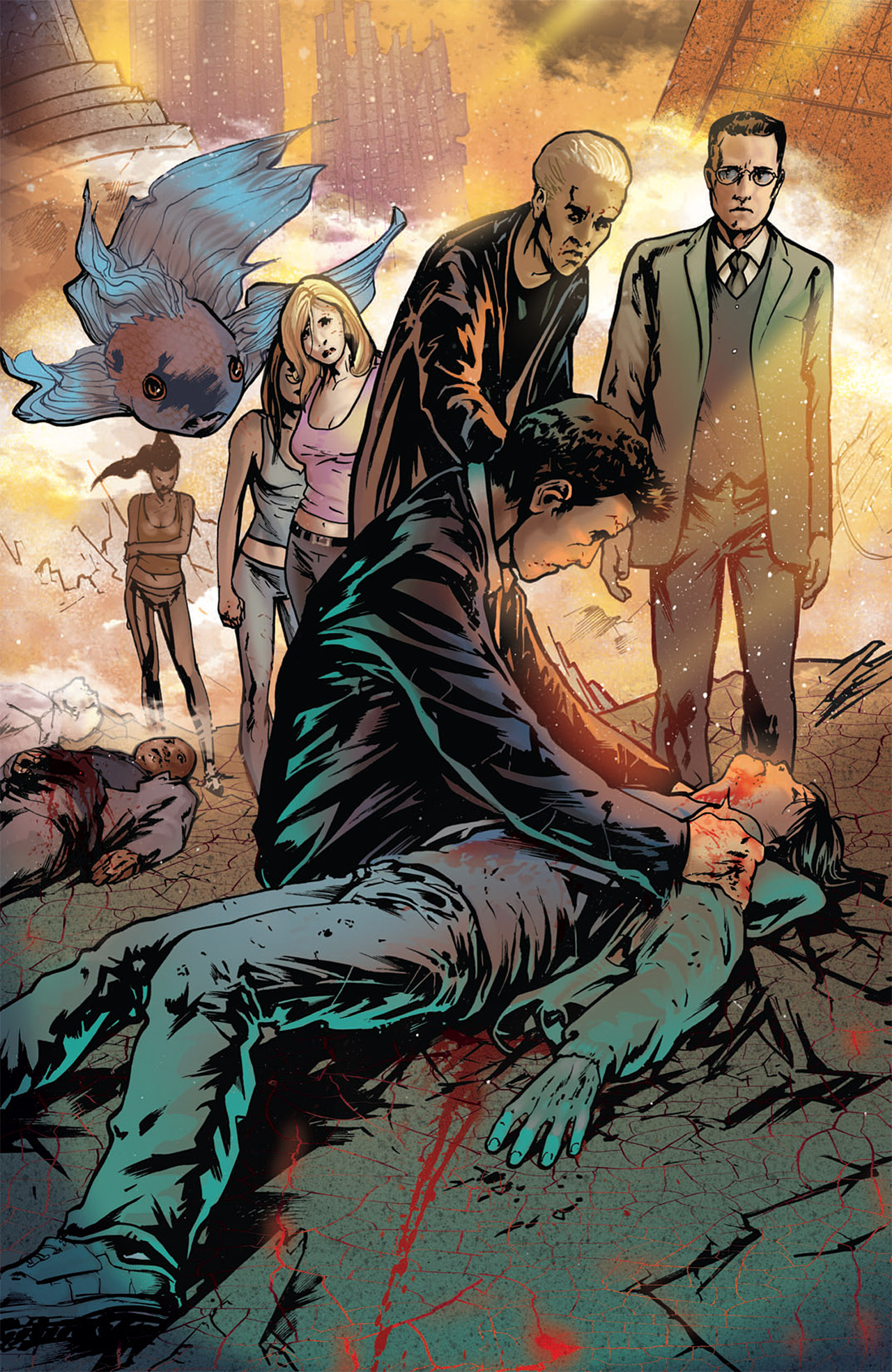 Read online Angel: After The Fall comic -  Issue #15 - 25