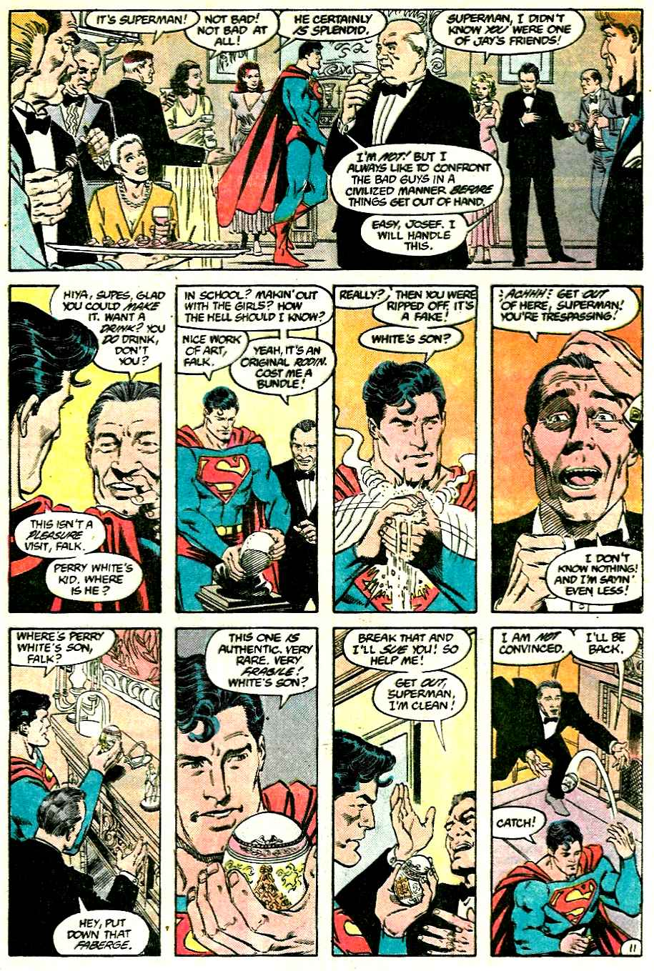 Read online Adventures of Superman (1987) comic -  Issue #428 - 11