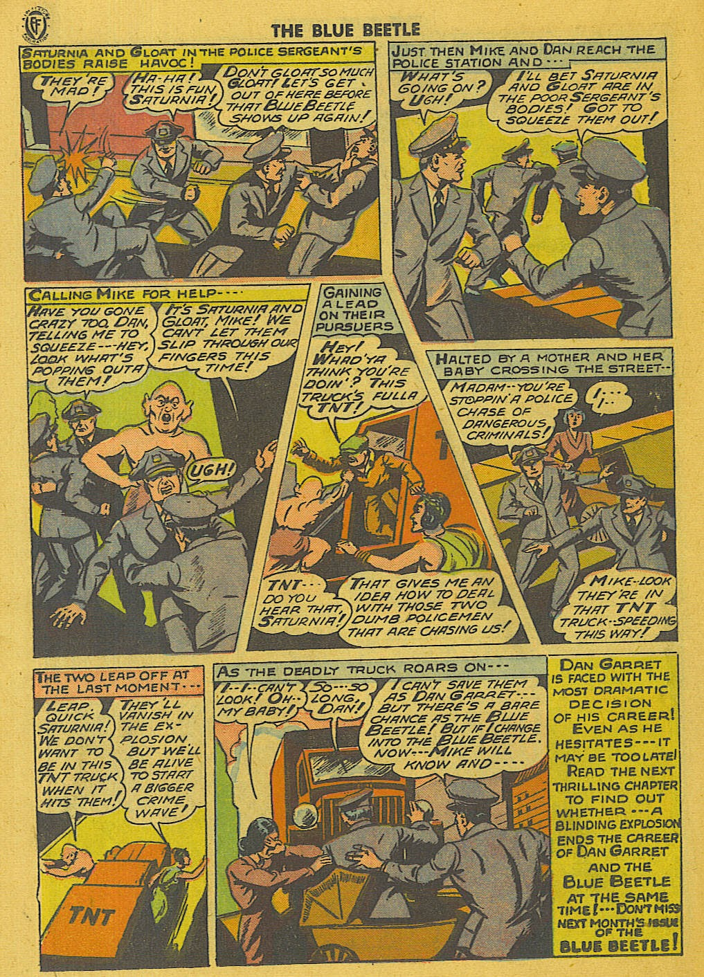 The Blue Beetle issue 35 - Page 21