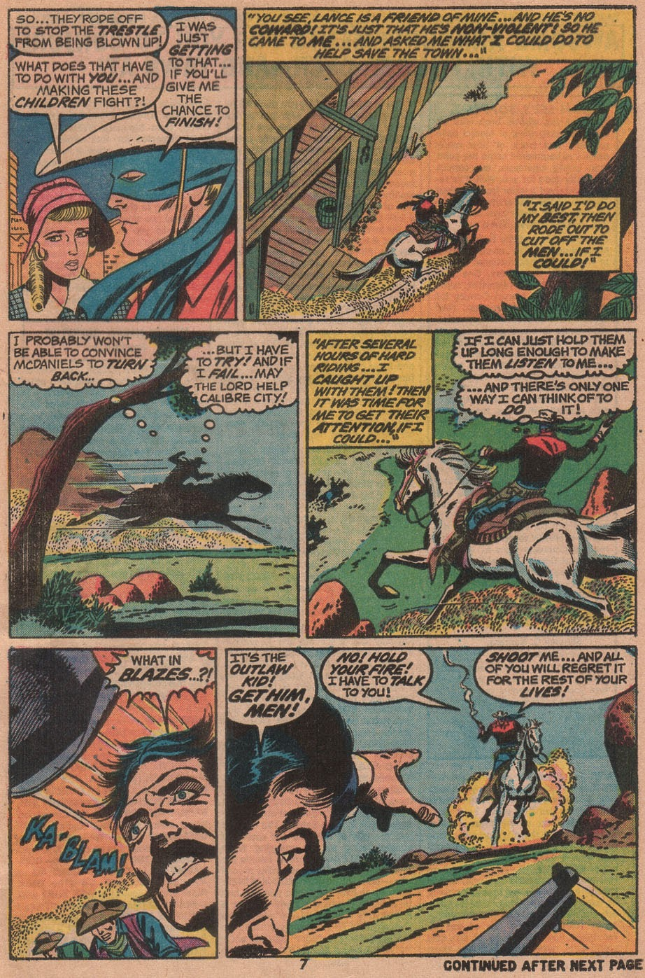 The Outlaw Kid (1970) issue 14 - Page 9