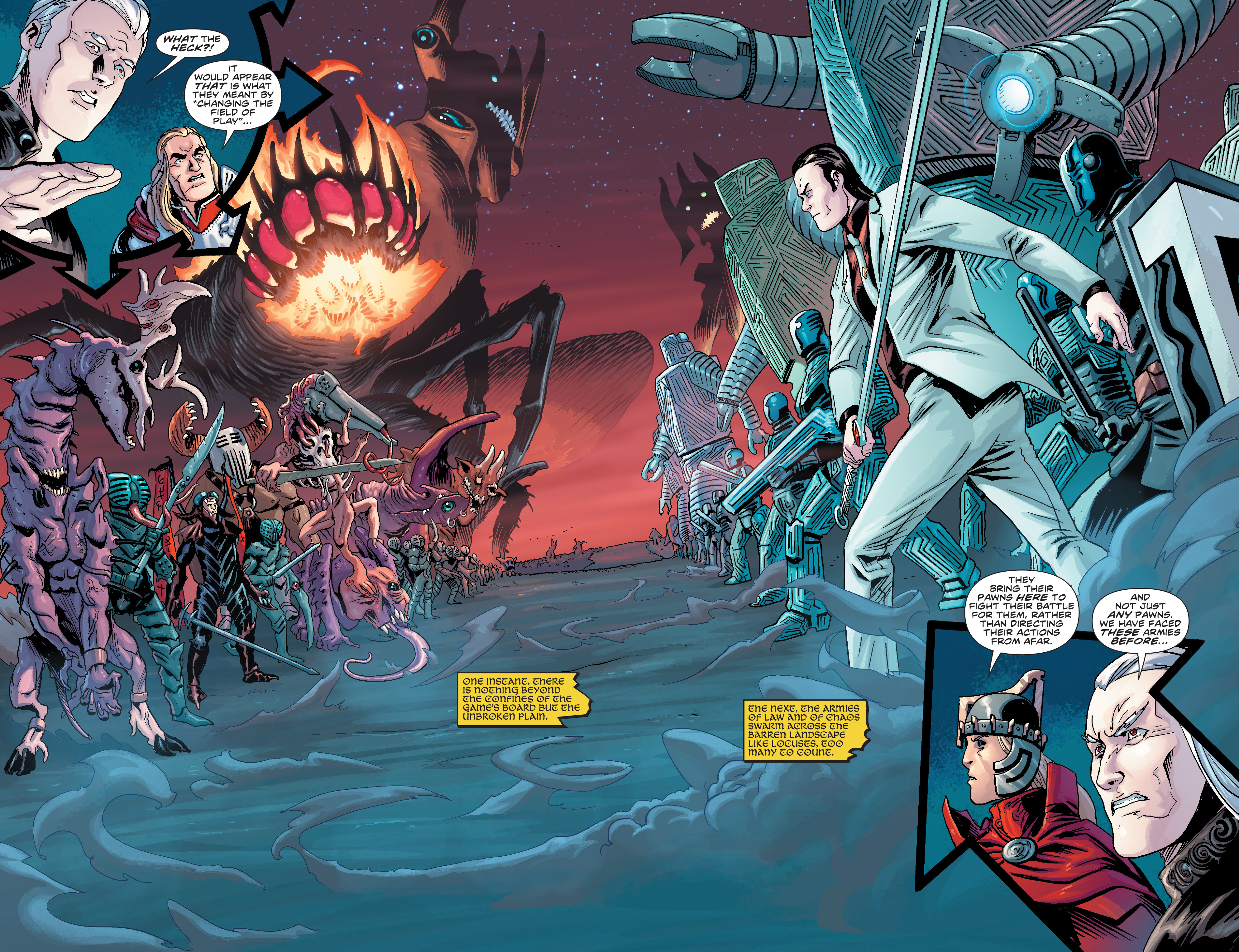 Read online Elric: The Balance Lost comic -  Issue # TPB 3 - 42