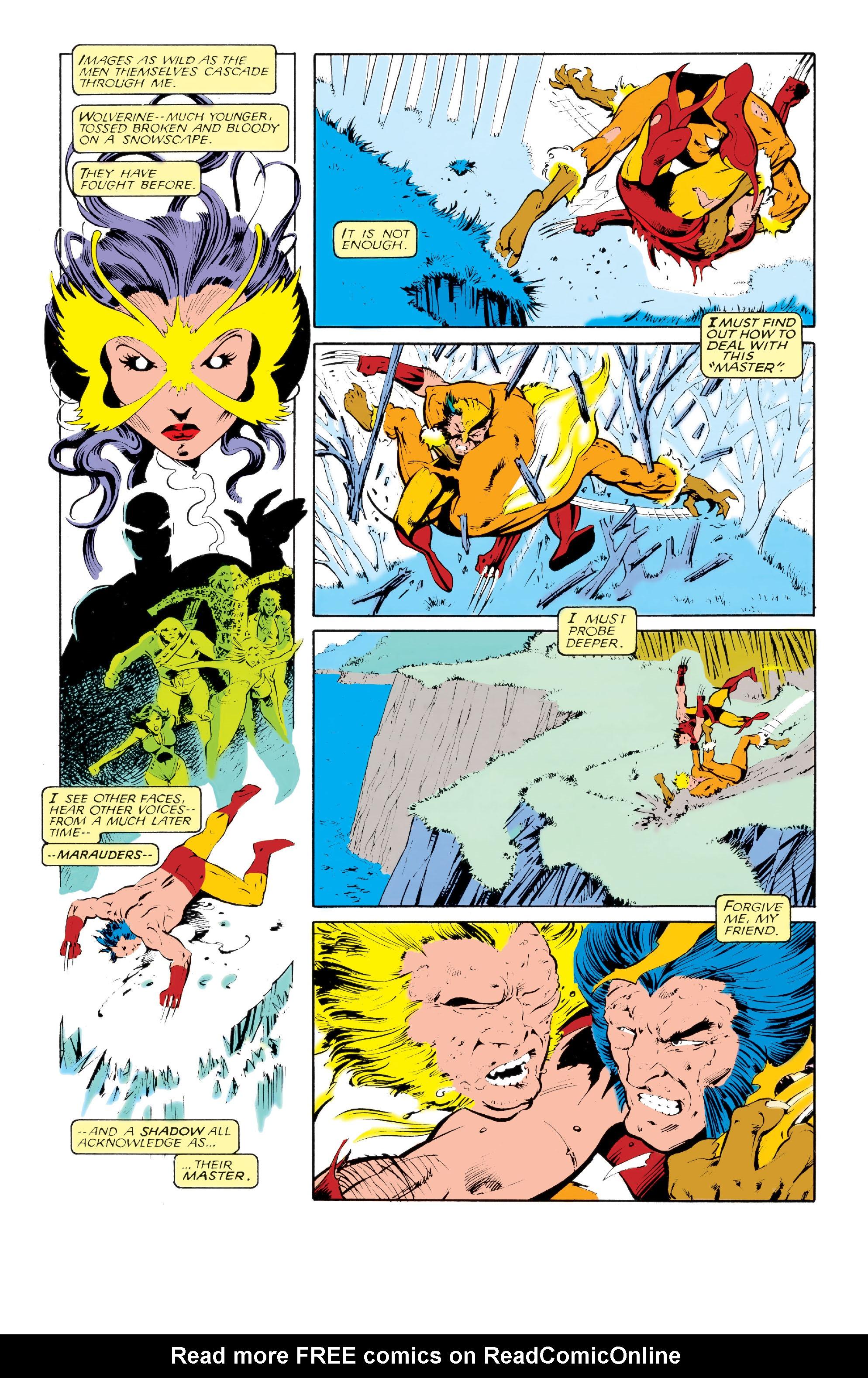 Read online Uncanny X-Men (1963) comic -  Issue #213 - 21