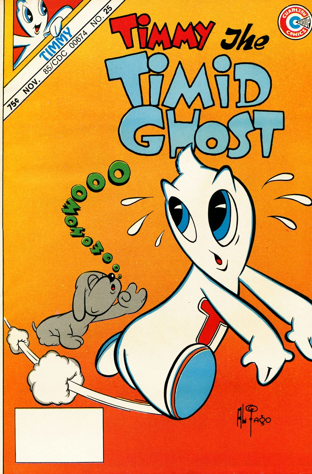 Read online Timmy the Timid Ghost comic -  Issue #25 - 1