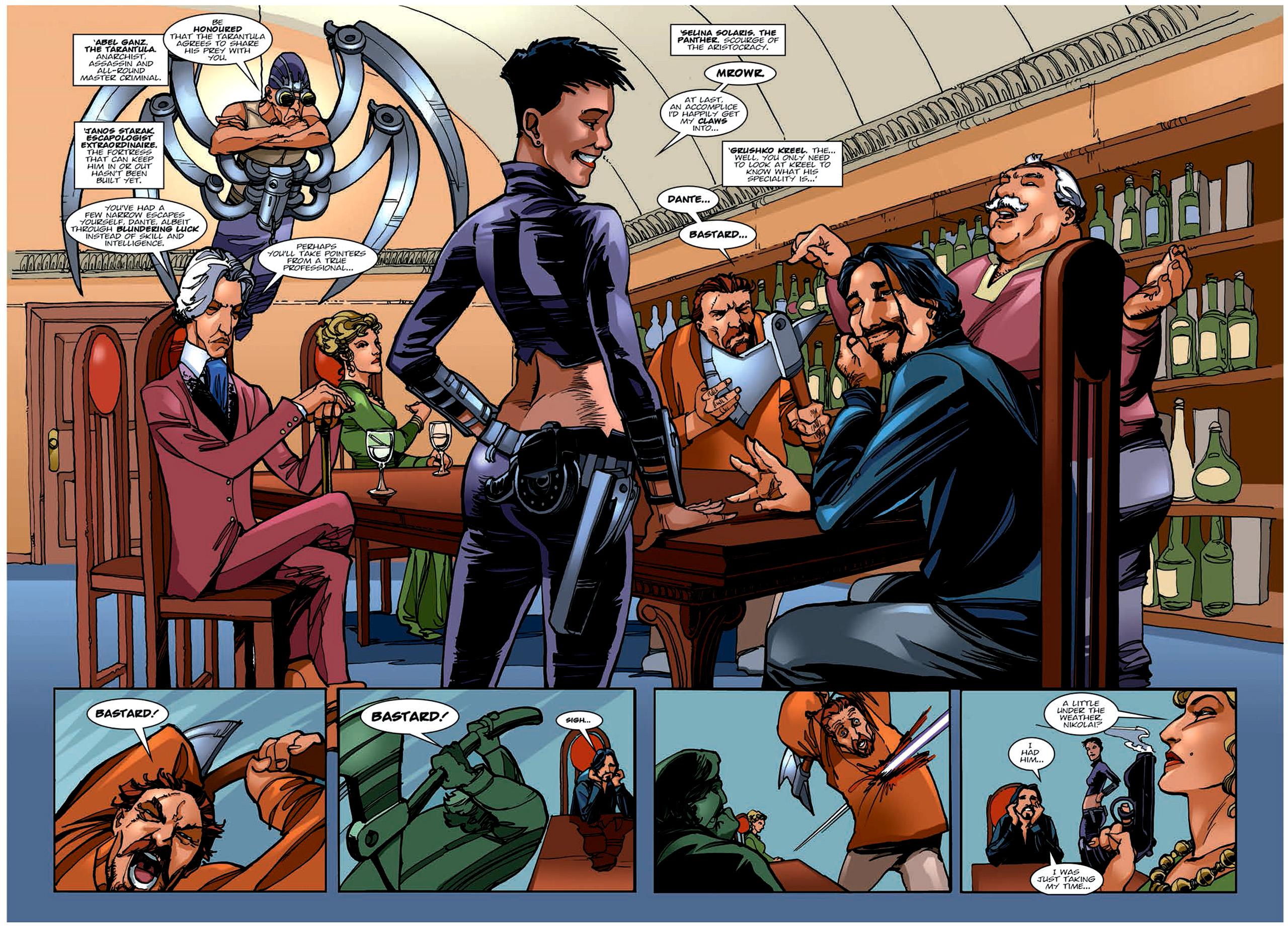 Read online Nikolai Dante comic -  Issue # TPB 6 - 47