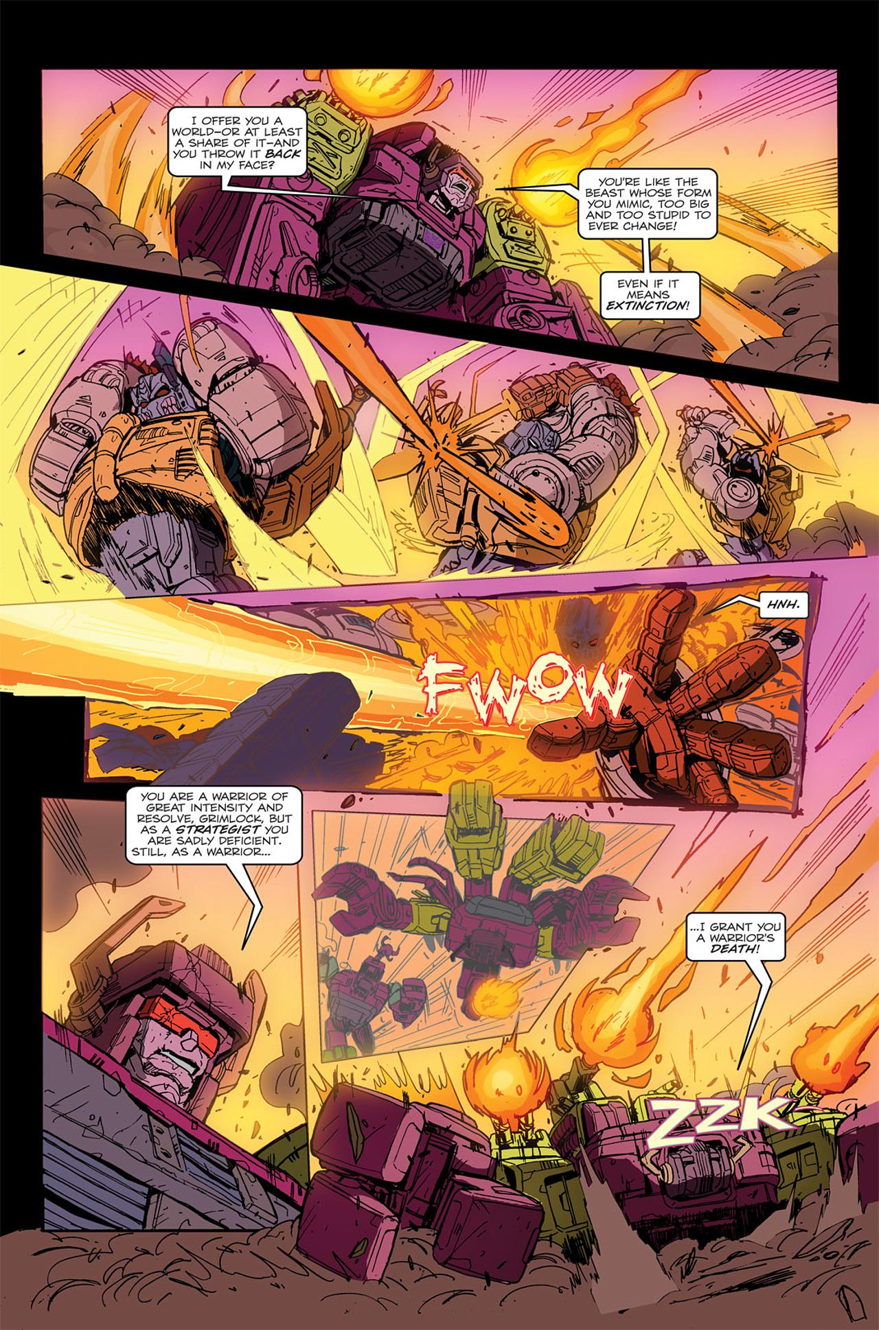 Read online Transformers Spotlight: Grimlock comic -  Issue # Full - 21