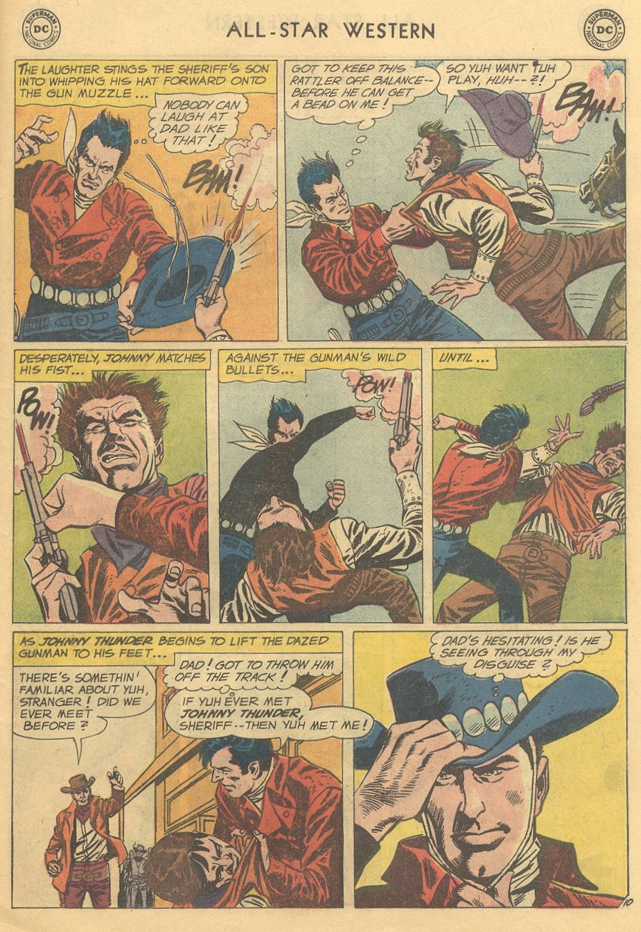 Read online All-Star Western (1951) comic -  Issue #108 - 15