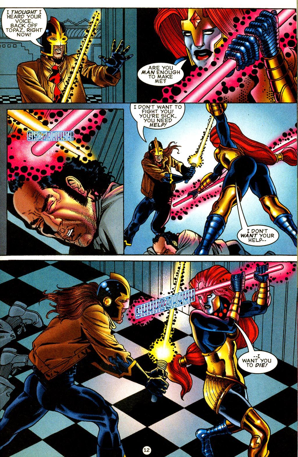 Read online UltraForce (1995) comic -  Issue #8 - 13