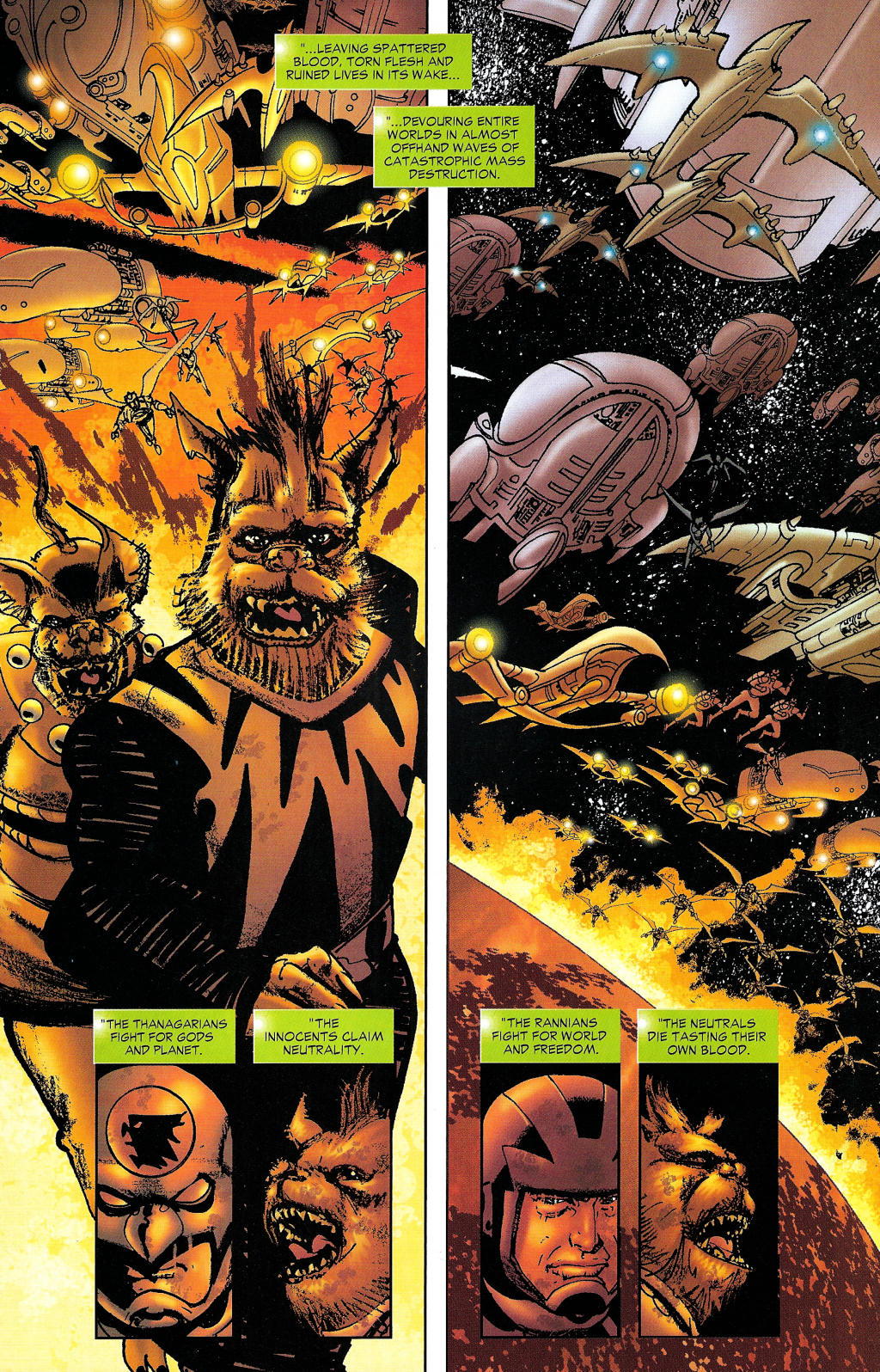 Read online Guy Gardner: Collateral Damage comic -  Issue #1 - 12