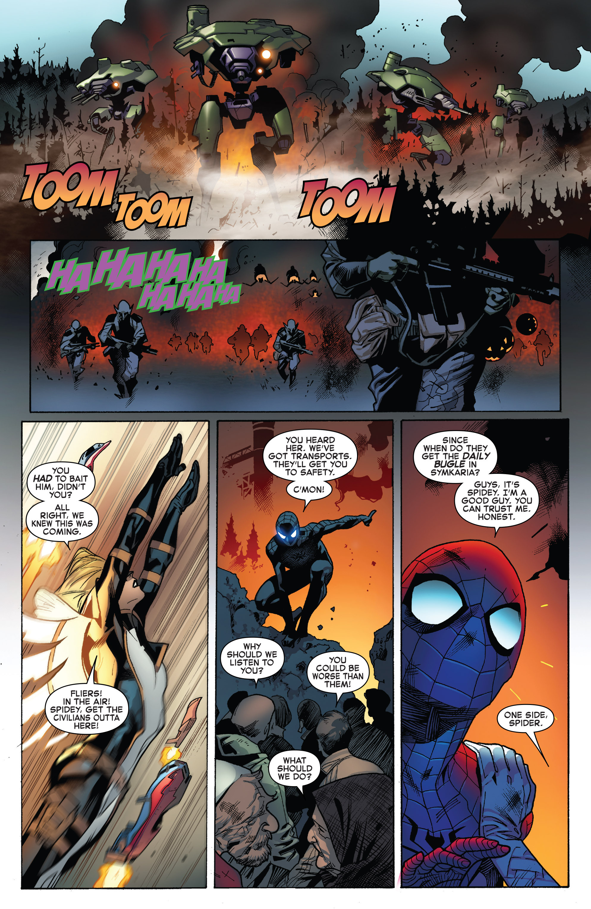Read online The Amazing Spider-Man (2015) comic -  Issue #27 - 12