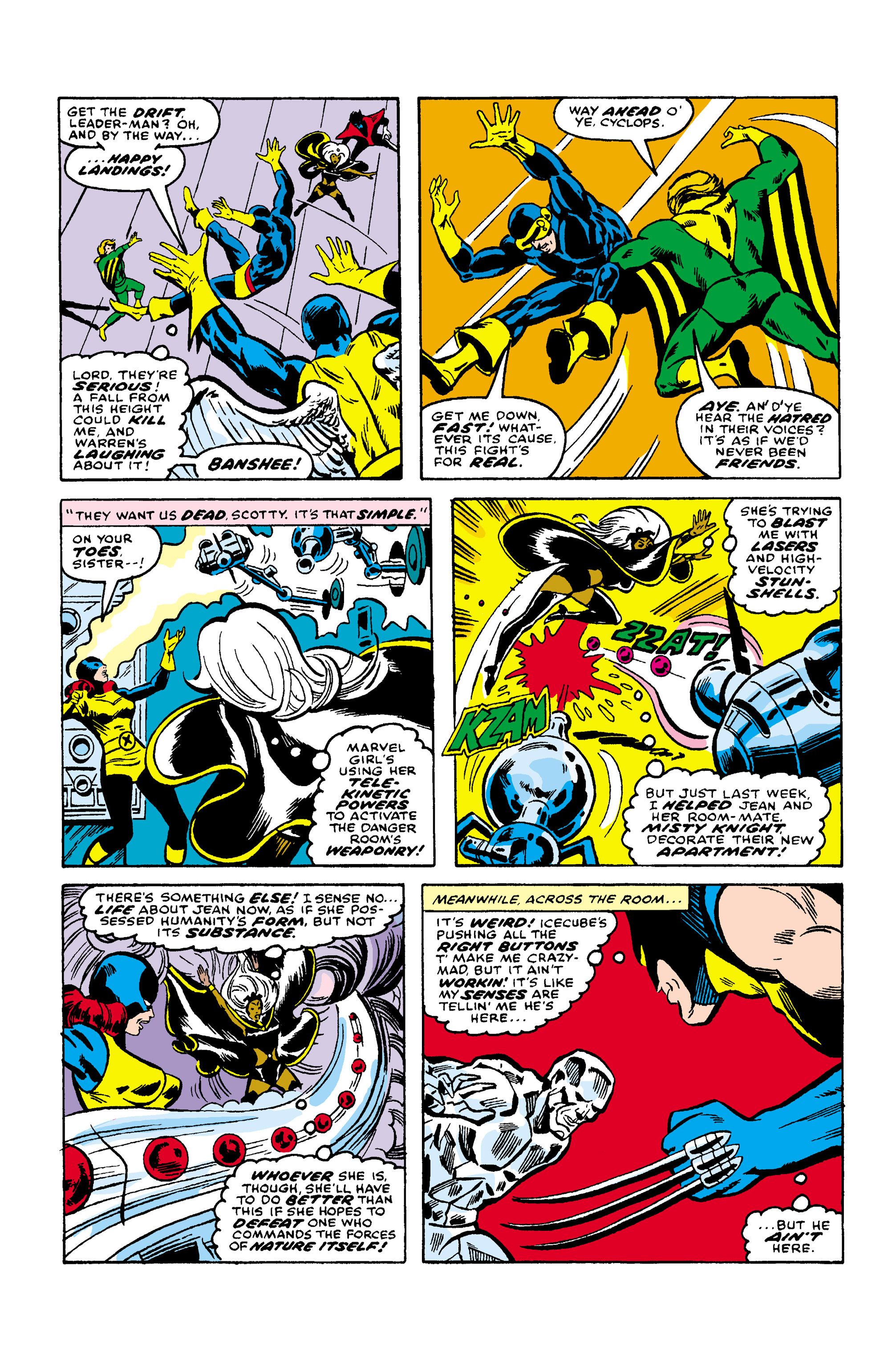 Read online Uncanny X-Men (1963) comic -  Issue #106 - 9