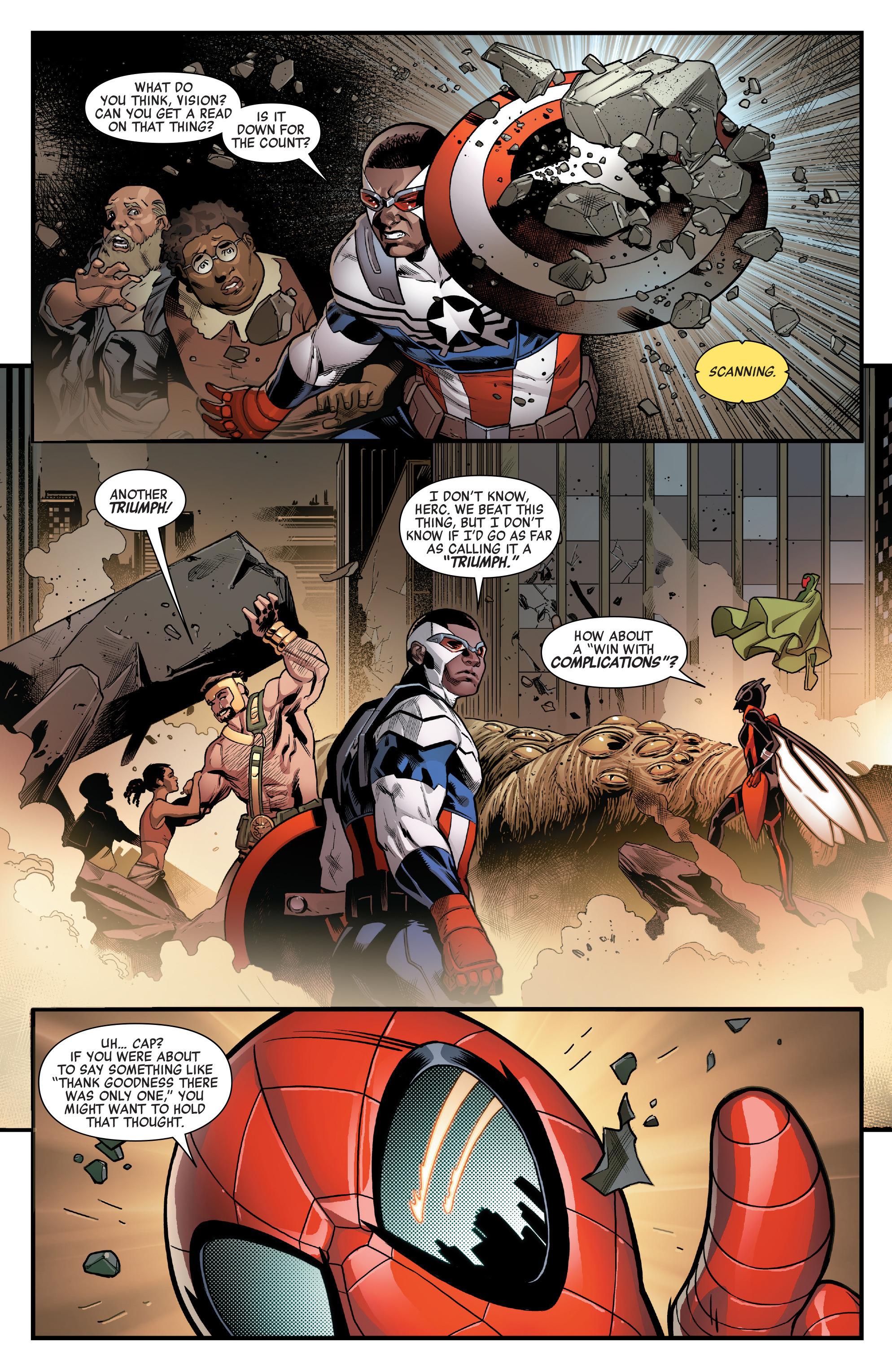 Read online Avengers (2016) comic -  Issue #1.MU - 22