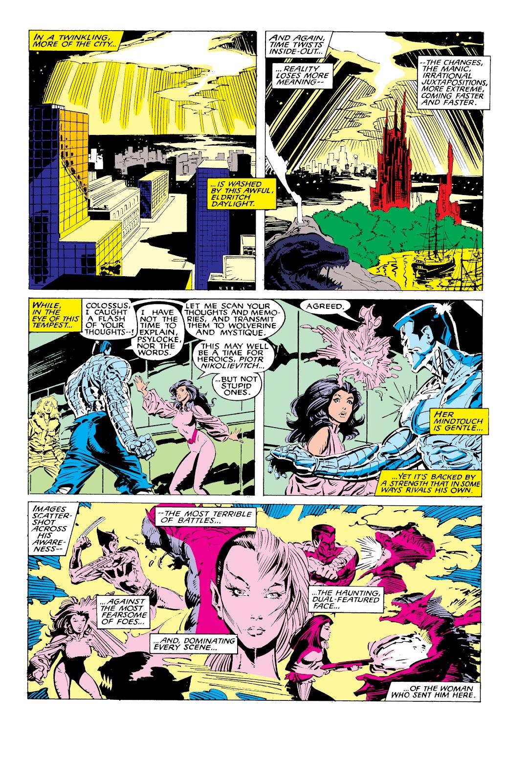 Read online X-Men Milestones: Fall of the Mutants comic -  Issue # TPB (Part 1) - 54