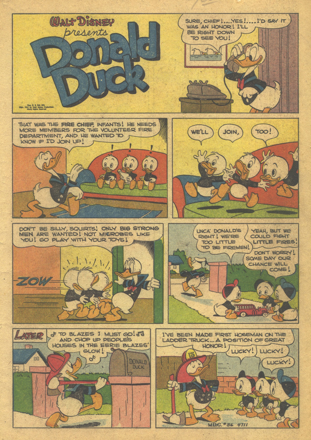 Walt Disney's Comics and Stories issue 86 - Page 3