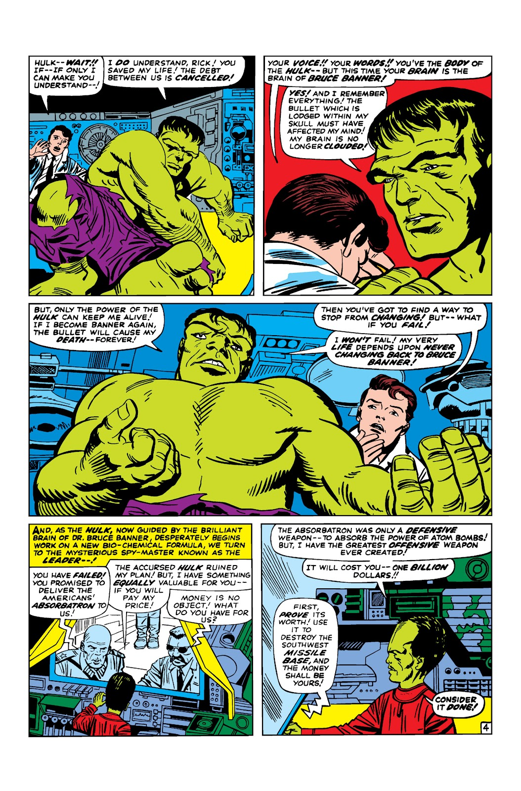 Read online Marvel Masterworks: The Incredible Hulk comic -  Issue # TPB 2 (Part 2) - 38