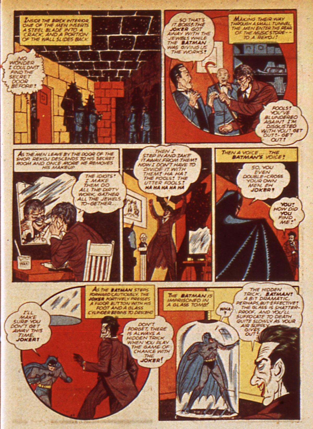 Read online Detective Comics (1937) comic -  Issue #45 - 11