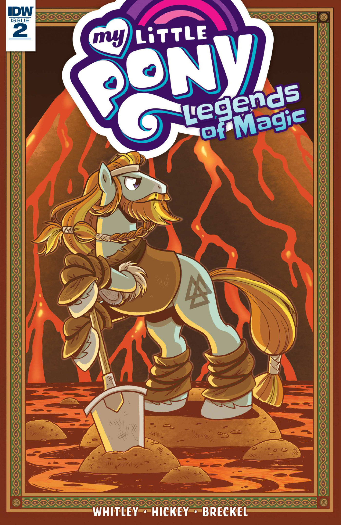 Read online My Little Pony: Legends of Magic comic -  Issue #2 - 1