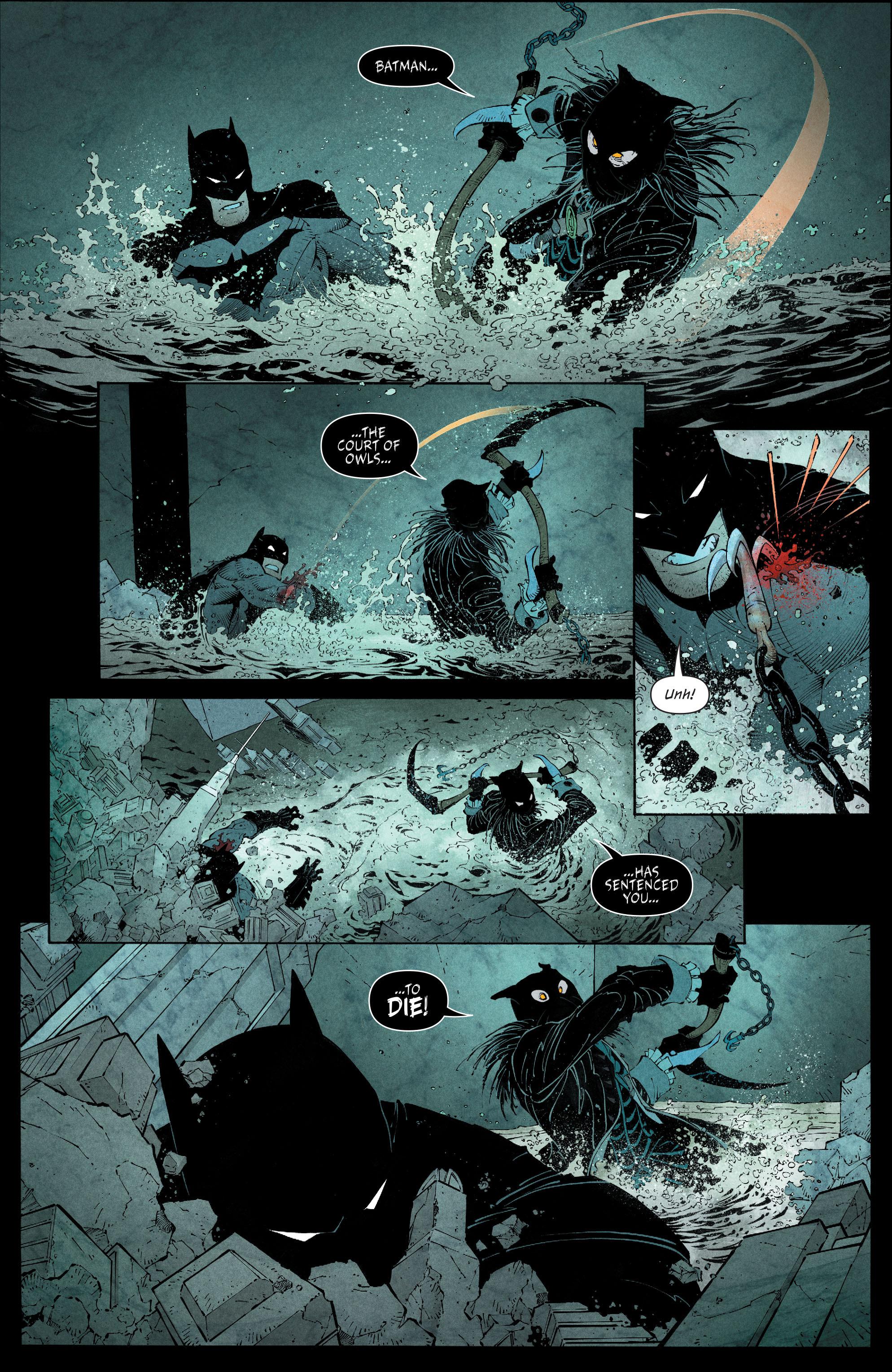 Read online Batman (2011) comic -  Issue # _TPB 7 - 108