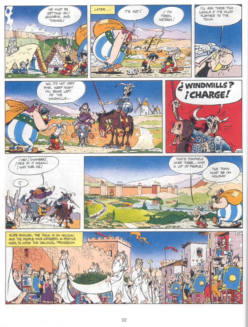Read online Asterix comic -  Issue #14 - 29