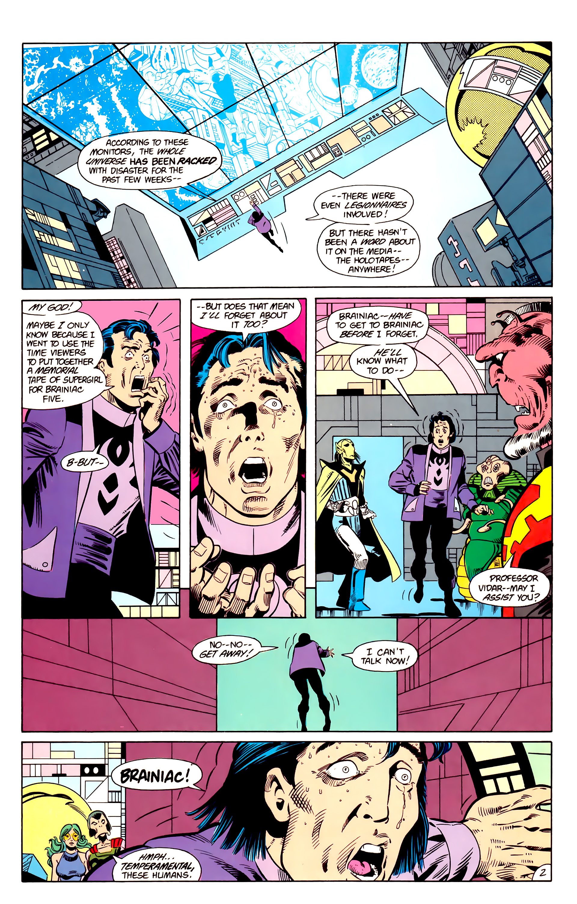 Legion of Super-Heroes (1984) 18 Page 2