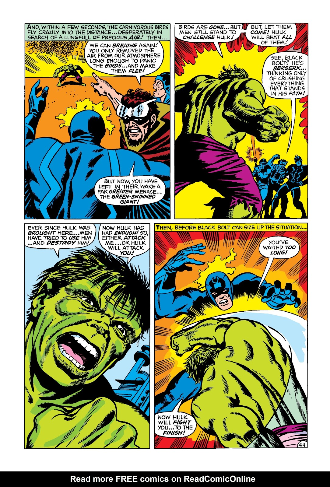 Read online Marvel Masterworks: The Incredible Hulk comic -  Issue # TPB 4 (Part 2) - 77