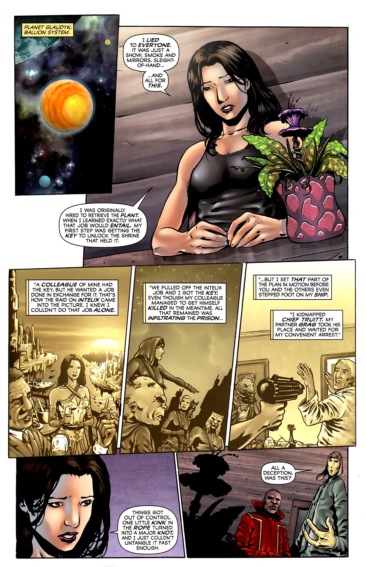 Read online Stargate Vala Mal Doran comic -  Issue #3 - 13