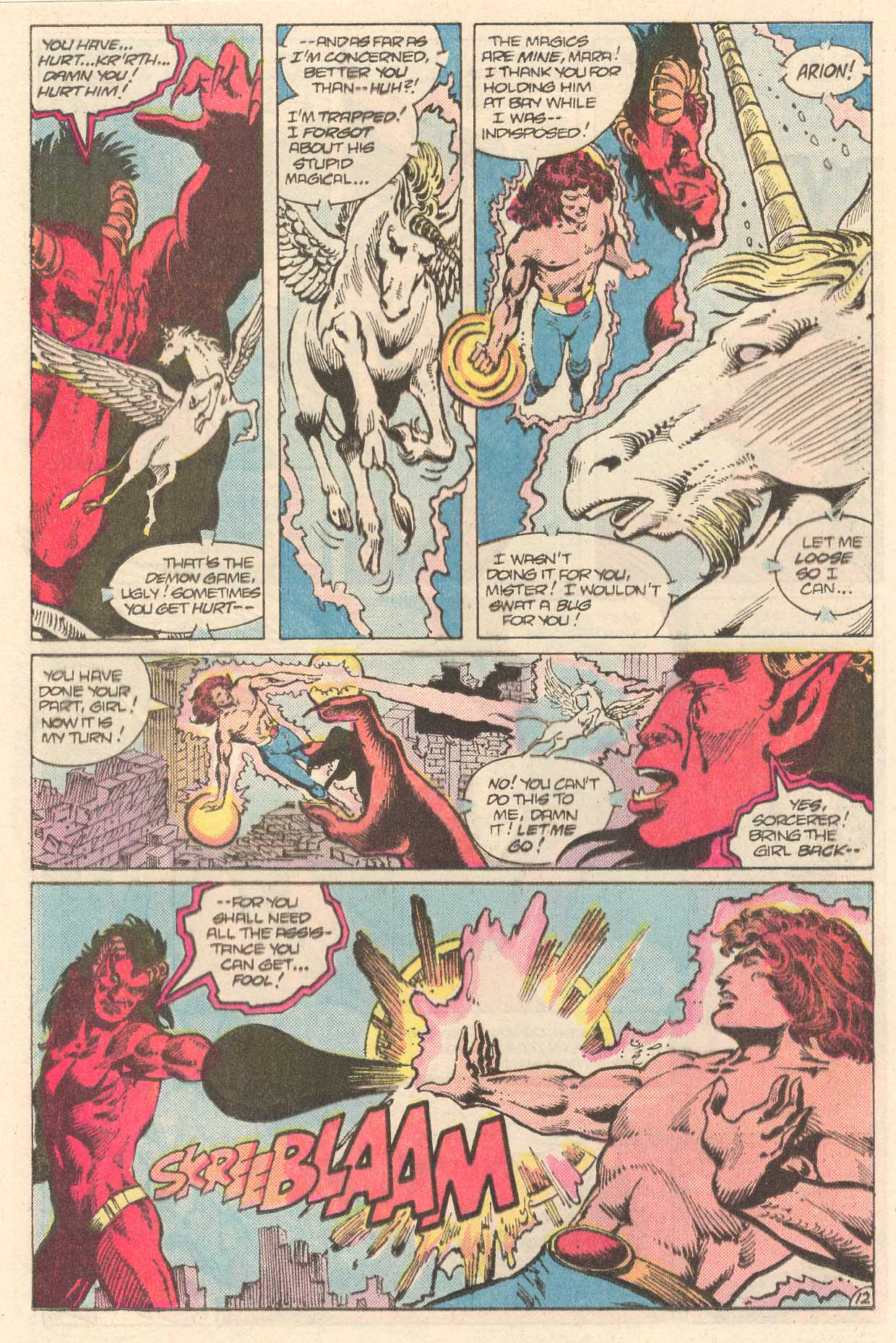 Read online Arion, Lord of Atlantis comic -  Issue #27 - 13
