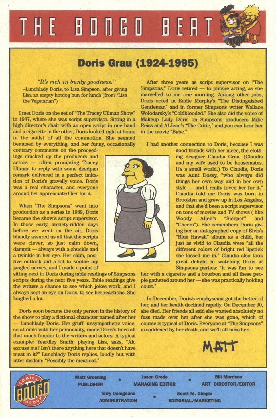 Read online Simpsons Comics comic -  Issue #17 - 22